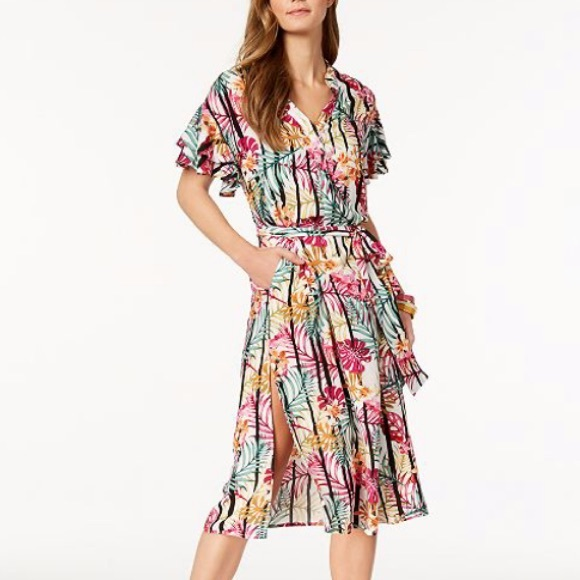 Nine West Dresses & Skirts - NWT Nine West Floral Midi Dress